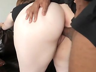 Chubby woman horny for BBC