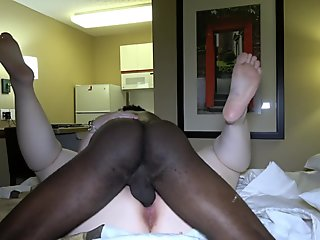 Anal treatment for this attached woman