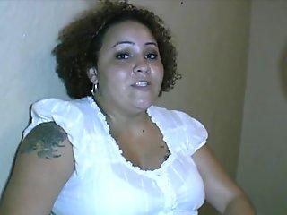 Big Latina Bully Bitch Blows Boner
